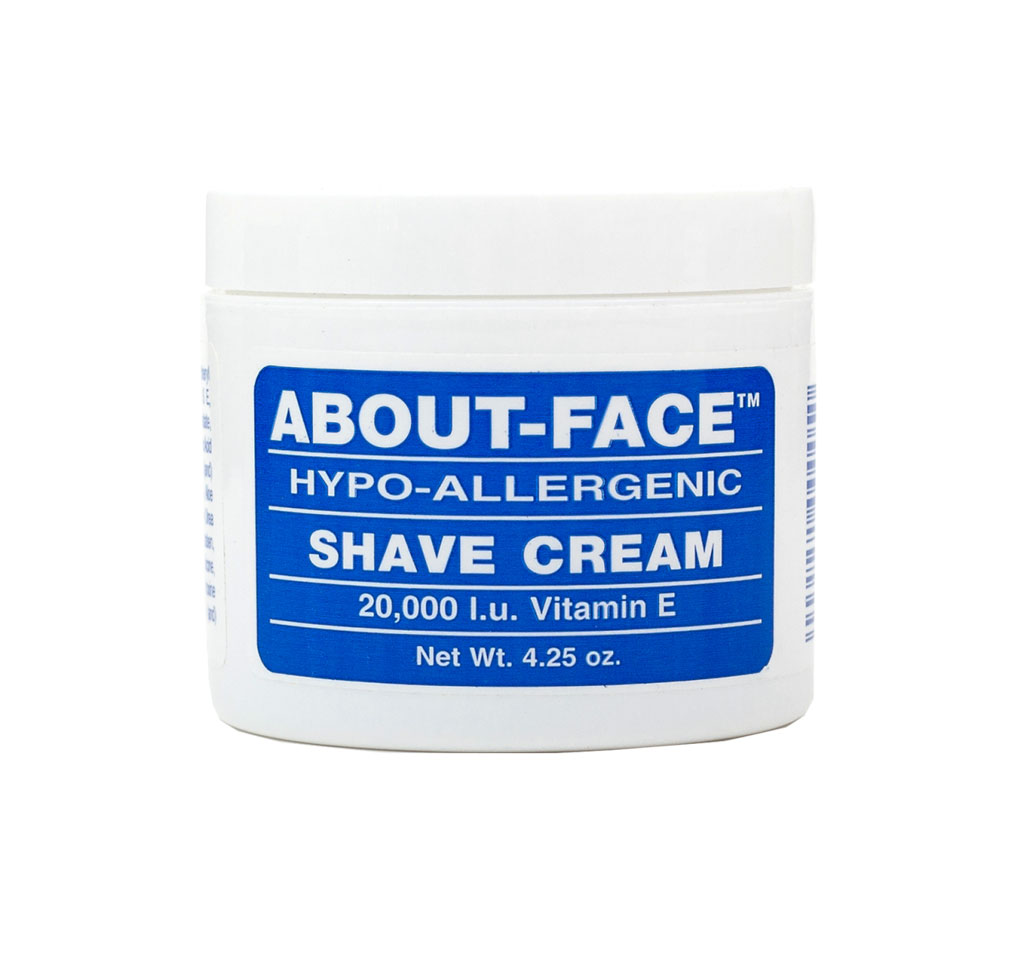 About Face Shave Cream